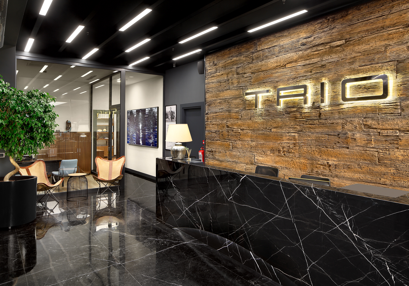 NEW HEADQUARTERS for TRIO