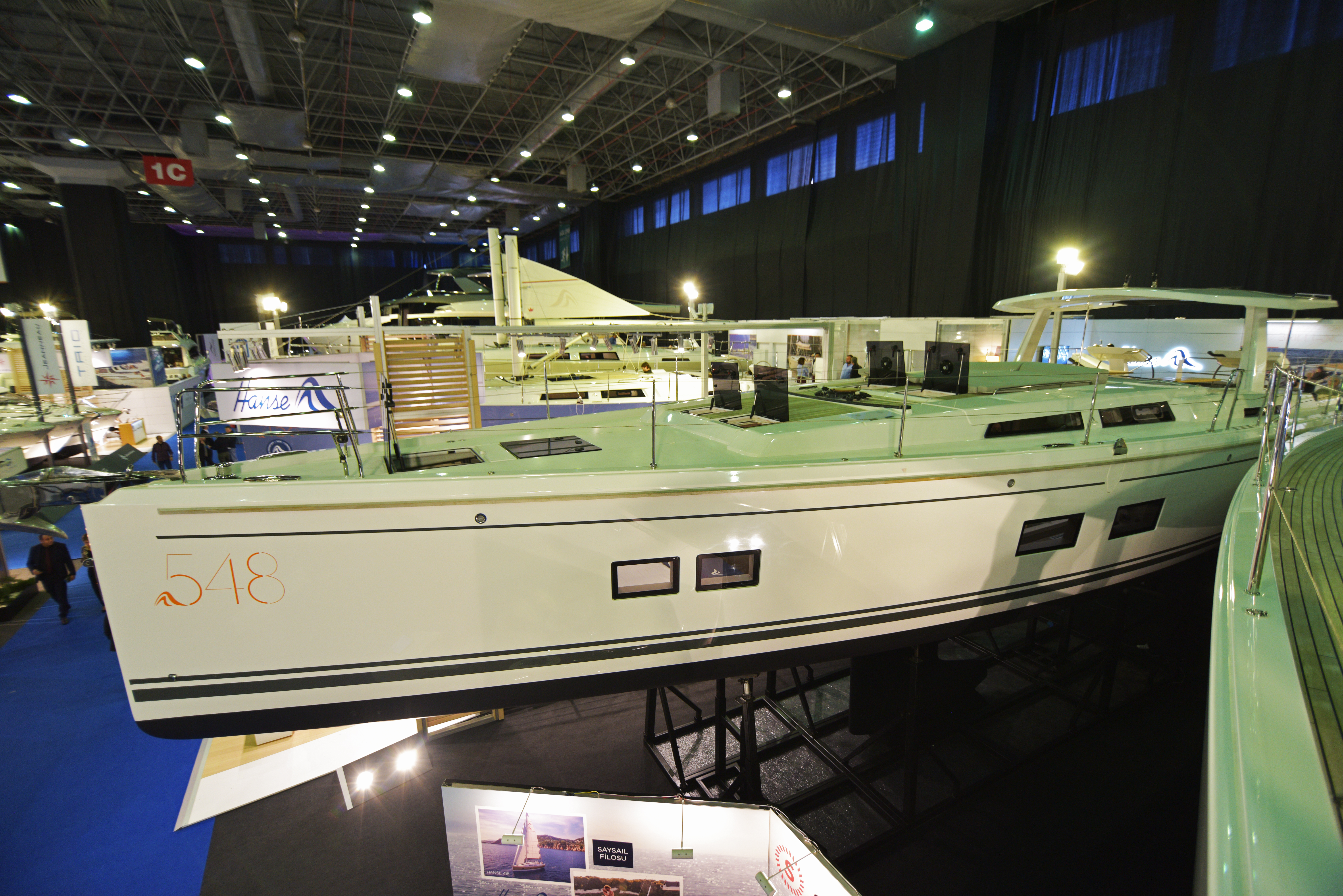 TRIO DENİZ WAS AT CNR EURASIA BOAT SHOW 2019