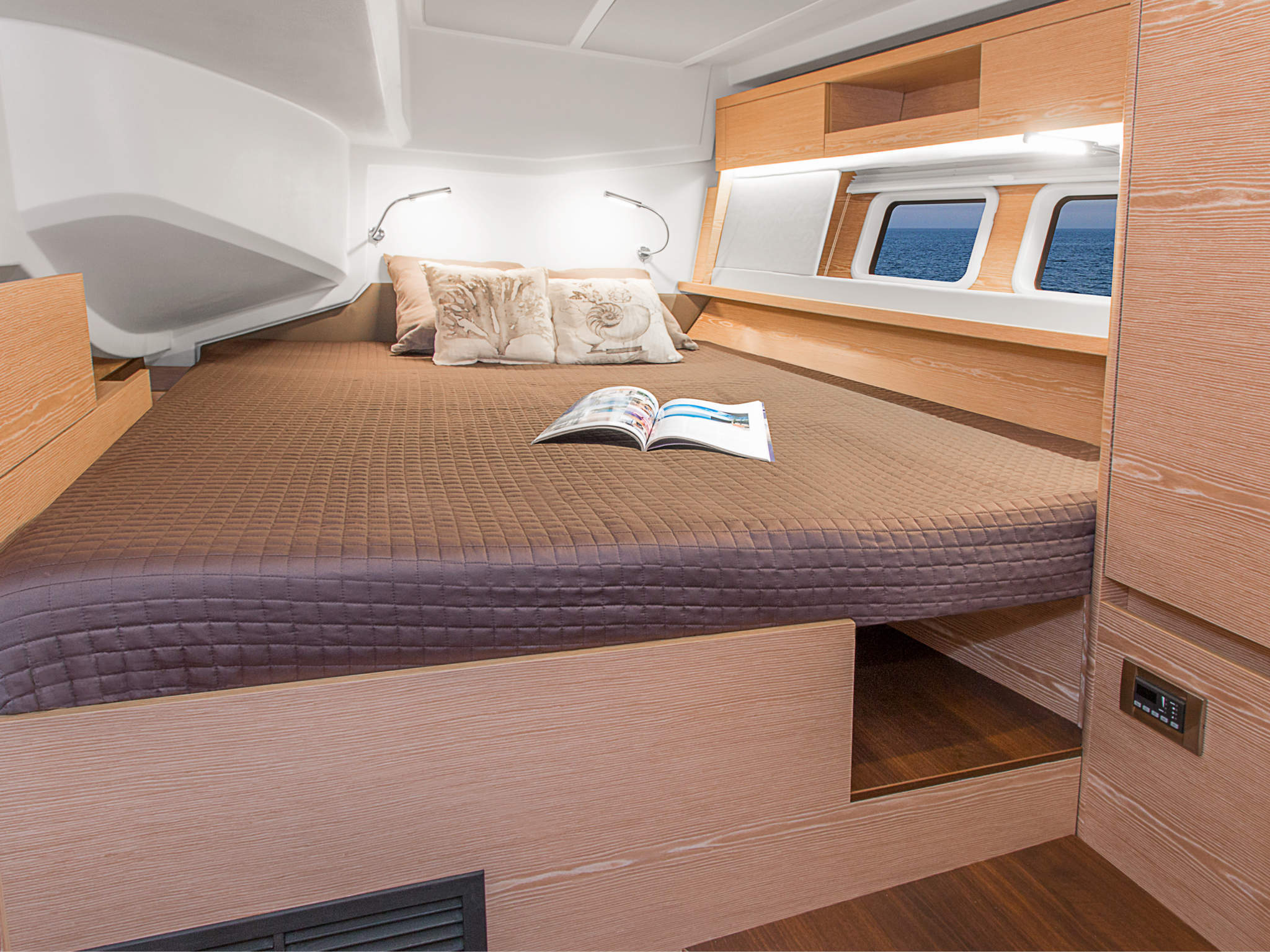 Optional VIP Port Cabin Layout